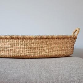 Baby Changing Basket - no. 02 - Neutral - Vegan
