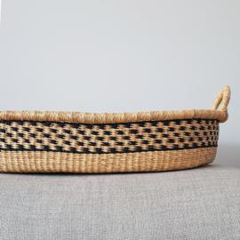 Baby Changing Basket - no. 12 - Black - Vegan SOLD OUT