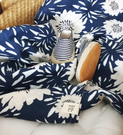Muslin Swaddle XL - Navy
