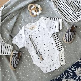 Baby Bodysuit - Short Sleeves - Dots