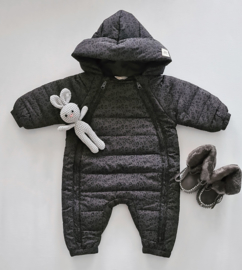 Snowsuit - Grey Leopard