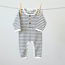 Playsuit  - Breton Stripes