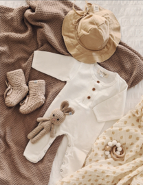 Linen Sun Hat - Beige