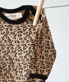 Baby Bodysuit - Long Sleeves - Leopard