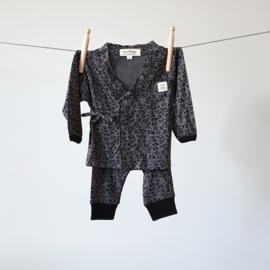Baby - Lounge Wear Set - Grey Leopard