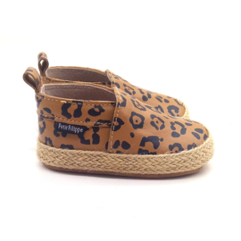 Baby - Leather Espadrilles - Leopard