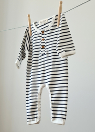 Playsuit - Breton Stripes