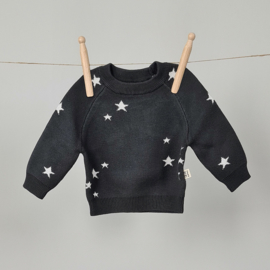 Starry Sweater - Cotton - Graphite