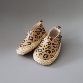 Baby - Leather Espadrilles - Leopard