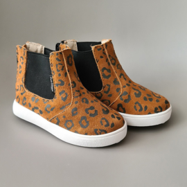 Toddlers/Kids - Chelsea Boots - Caramel Leopard