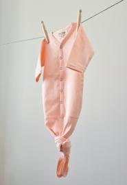 Newborn - Knotted Sleep Gown - Blush