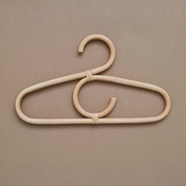 Rattan Baby Clothes Hangers - Set of 3