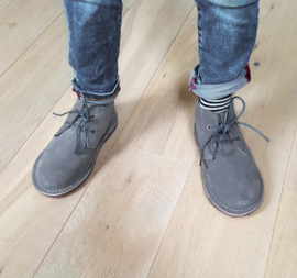 Toddlers - Desert Boots - Grey Rocks!