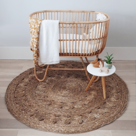 Handwoven Seagrass Rug - 150 cm