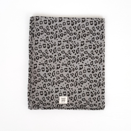 Baby - Linnen Wieglaken - Grey Leopard