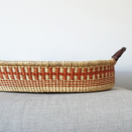 Baby Changing Basket - no. 16 - Brick SOLD OUT