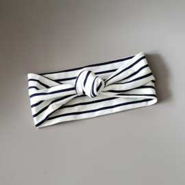 Knot Headband - Breton Stripes