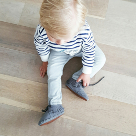 Toddlers/Kids - Suede Fringe Boots - Grey Rocks!