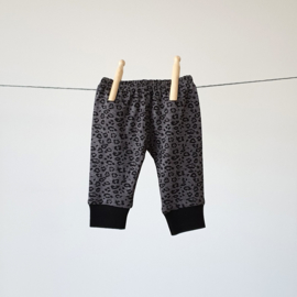 Baby - Lounge Wear Set - Grey Leopard