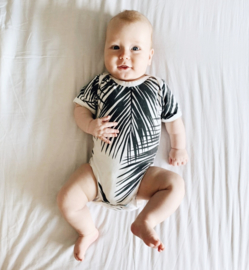 Baby Bodysuit - Short Sleeves - Palm