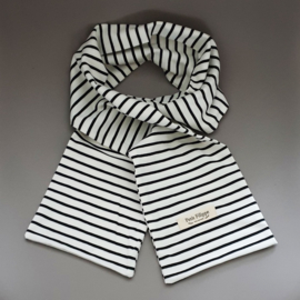 Every Day Scarf - Black Stripes