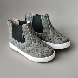 Toddlers/Kids - Chelsea Boots - Grey Leopard