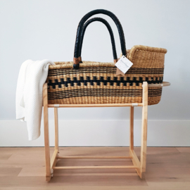 Rocking Moses Basket Standaard - Natural
