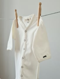 Newborn - Knotted Sleep Gown - Ivory