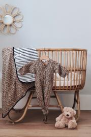 Newborn - Knotted Sleep Gown - Leopard