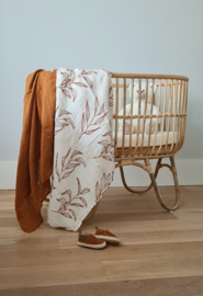Muslin Swaddle XL - Leaves