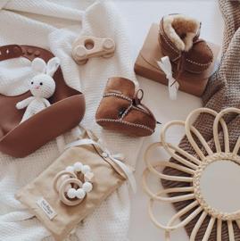 Baby - Lammy Booties - Caramel