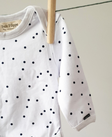 Baby Bodysuit - Long Sleeves - Dots