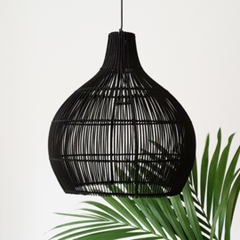 Lampshade - Rattan - Totally Black