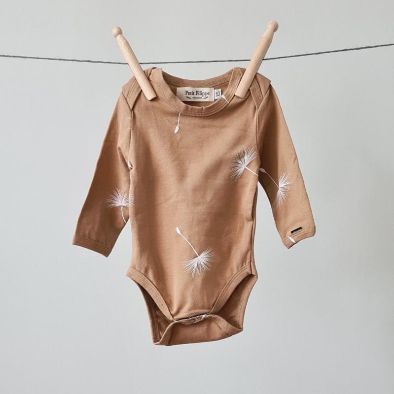 Baby Bodysuit - Long Sleeves - Dandelion