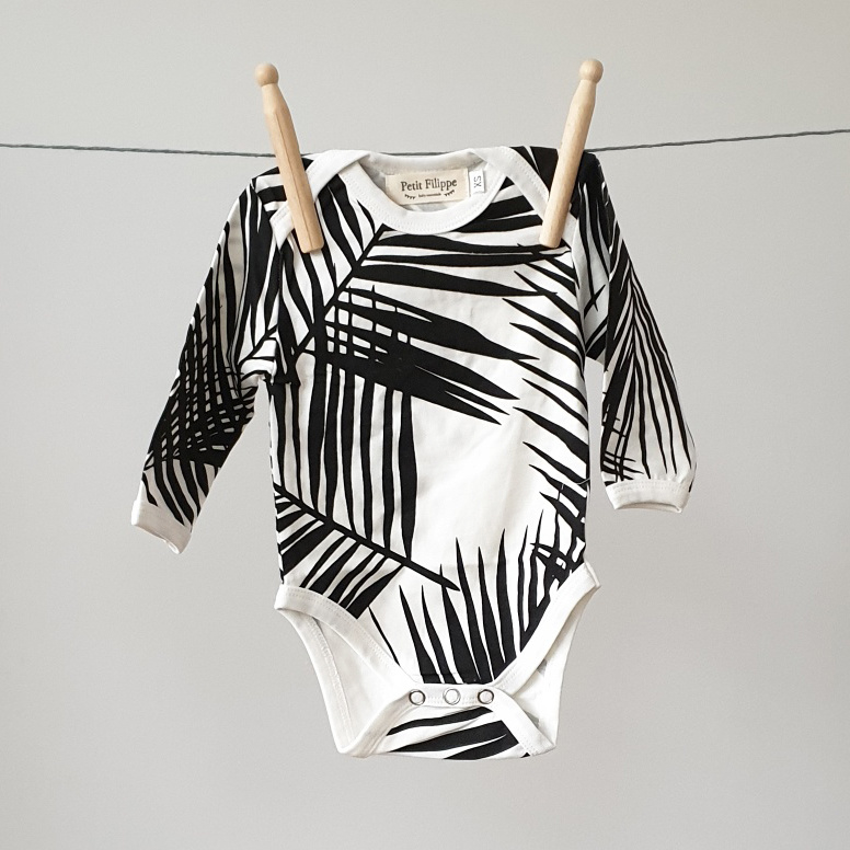 Baby Bodysuit - Long Sleeves - Palm