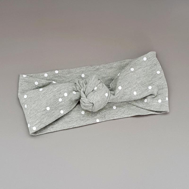 Knot Headband - Grey