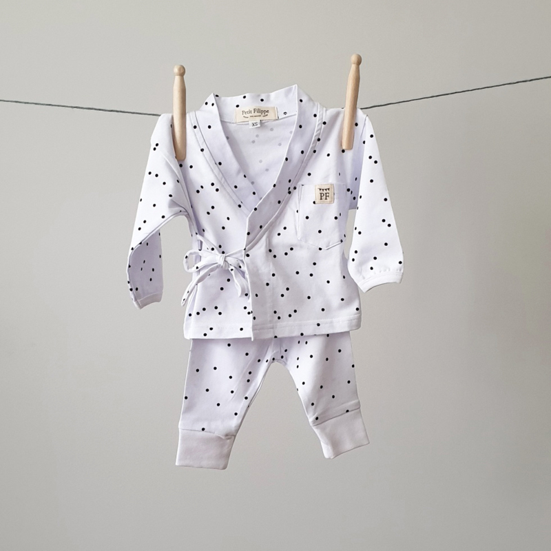 Baby - Lounge Wear Set - Dots