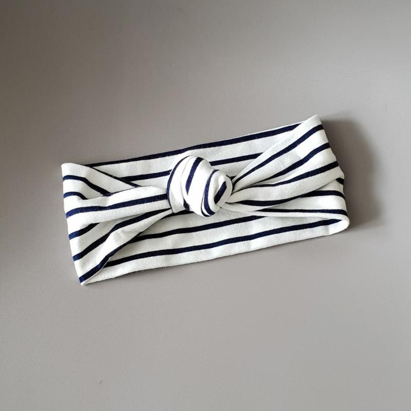 Knot Headband - Breton Stripes