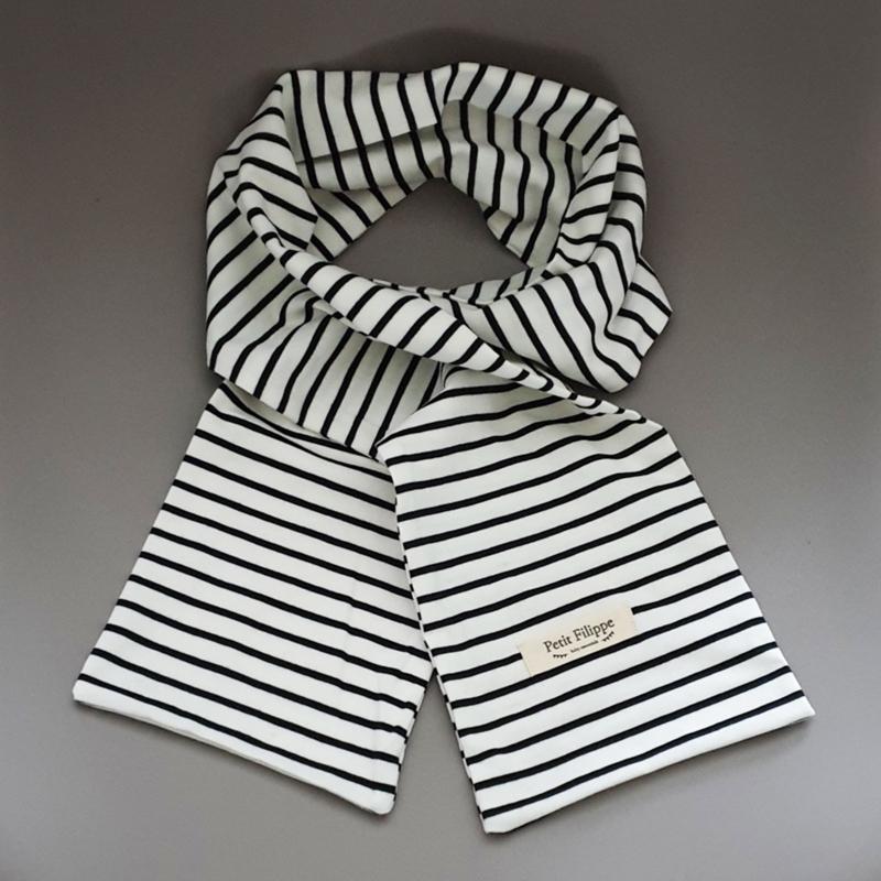 Every Day Scarf - Black Stripes