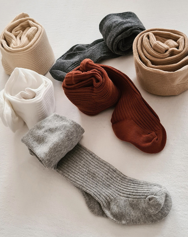 Ribbed Tights | BABY CLOTHING | Petit