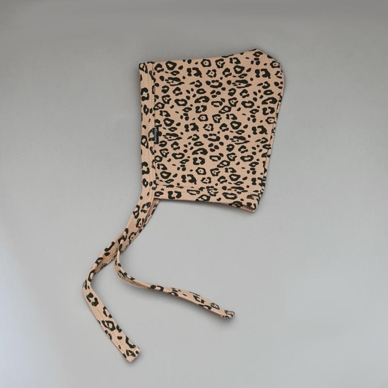 Baby Bonnet - Leopard