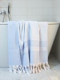 Ottomania |een zijde badstof Lavender blue