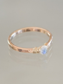 Ring petit | Maansteen | 14k gold-filled