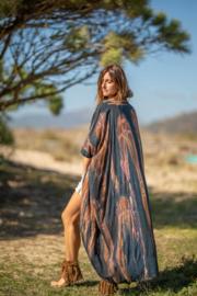Kimono Boho | blauwbruin