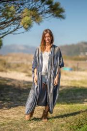 Kimono Boho | blauwgrijs