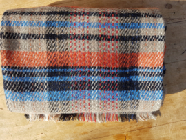 Plaid van gerecycled wol