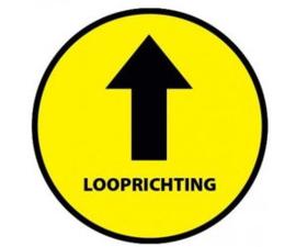 Looprichting geel