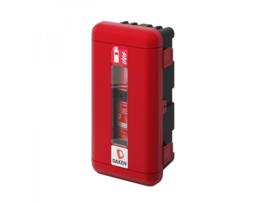 Daken® Brandblusserbox Ø150-170mm rood/zwart