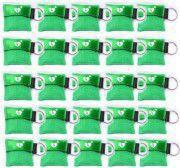Beademingsmasker in sleutelhanger, voordeelset 25 stuks