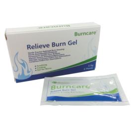 Burncare gel sachet 3,5 gram per 6 stuks in doosje
